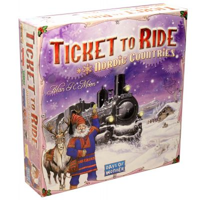 Der er masser af sjov og oplevelser i Ticket to Ride